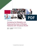 WP Increasing Reliability of Virtualized WLAN 0510 v2