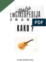 dječija enciklopedija znanja KAKO