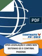 Sped Legislacao Links Sistemas G5 Contabil Phoenix