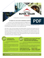 National Buyer Seller Forum Brochure