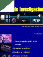 Método científico - Problemática Ps, Soc.