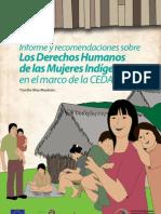 Informe y Recomendaciones sobre los Derechos Humanos de las Mujeres Indígenas en el marco de la CEDAW