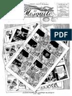 Periódico El Mosquito. Año 1886.