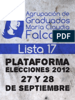MARIA CLAUDIA FALCONE - LISTA 17