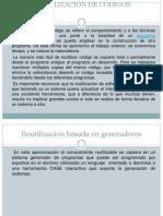 REUTILIZACIÓN DE CÓDIGOS