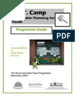 Spy Camp Programme Guide