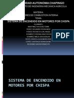Sistema de Encendido en Motores Por Chispa