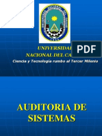 Auditoria de Sistemas 08set2012