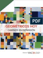 Catalogo Geometricos Hoy. Caminos en Expansion