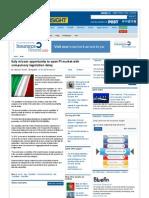 Italy Misses Opportunity to Open PI Market With Compulsory Legislation Delay - Insurance Insight