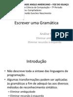 Escrever Uma Gramc3a1tica