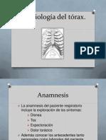 Semiología del tórax