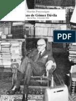 Esbozo de Gómez Dávila - Martin Pouysségur