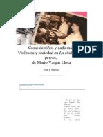 COSAS DE NIÑOS Y NADA MÁS- VIOLENCIA Y SOCIEDAD EN LA CIUDAD Y LOS PERROS