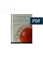 Les 50 Regles Dor de La Minceur - Les Mini Larousse