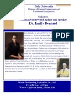 Dr. Emily Bernard Speaks at Fisk University