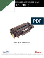 HP P3005 Reman Span