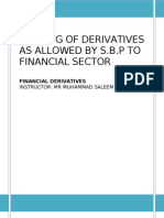 TRADING OF DERIVATIVES