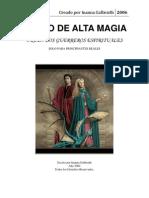 Manual Alta Magia M