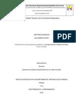 INFORME TÉCNICO DE SITUACIÓN PROBLEMA 2