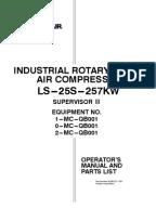 sullair 3700 air compressor manual