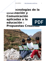 Tecnologías  de la información aplicadas a la educación