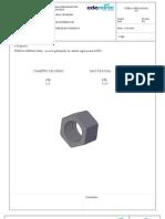 1007267--Tuerca Hexagonal de 1-2 Pulg