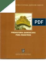 Prehistoria Dominicana Para Maestros - Marcio Veloz Maggiolo