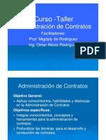 CURSO DE ADMINISTRACIÓN DE CONTRATOS