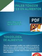TOXICOLOGIA ALIMENTARIA