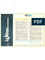 Model Rocketry Safety Poster