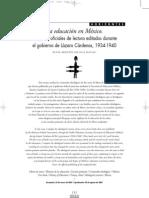 La Educacion en Mexico en Gobierno de Lazaro Cardenas