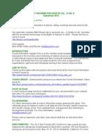 Forest Information Update Vol 13 No 9