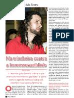 ENTREVISTA JULIO SEVERO - EDIÇÃO 110 - REVISTA GRAÇA SHOW DA FÉ