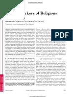 ESTUDO - Neural Markers of Religious - Inzlicht, McGregor,Hirsh,Nash,2009