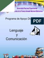 Unidad 1 de Curso introductorio de la UNEFA Lenguaje