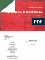 Giorgio Agamben - Infancia e Historia. Destrucción de la experiencia y origen de la historia