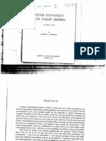 Étude syntaxique d'un parler berbère (Ait Frah de l'Aurès) - Thomas G. Penchoen