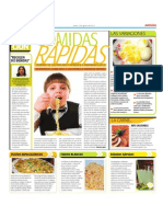 COMIDAS RÁPIDAS PERO SALUDABLES