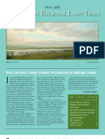 Spring 2012 Northcoast Regional Land Trust Newsletter