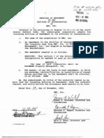 1985 - MMC Inc - Articles of Amendment
