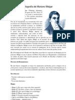 Biografía de Mariano Melgar