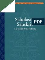 Scholastic Sanskrit. a Manual for Students.(G.tubb,E.boose)(NY,2007)(600dpi,Lossy)
