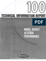 Rocket Altitude Performance