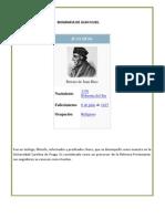Biografia de Juan Huss