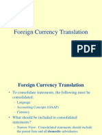 Translation of Financial Statements