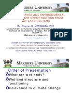 Presentation on Wetlands - UIPE NTC June 2012