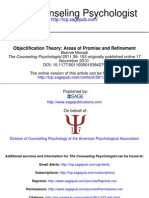 Moradi - Objectification Theory - Areas of Promise and Refinement