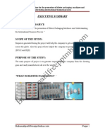 A Project Report on B2B Communication for the Promotion of Blister Packaging Machines and Understading International Business Process