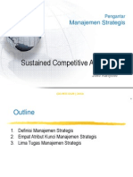 Sustained Competitive Advantage